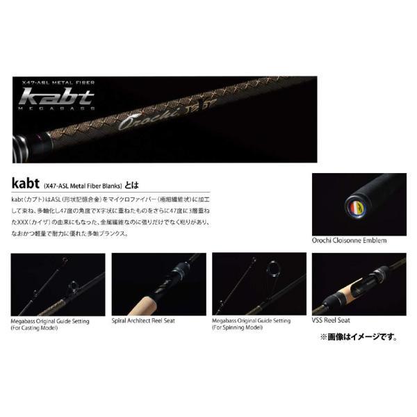 ●メガバス OROCHI XXX オロチ・カイザ F4.1/2-68KG