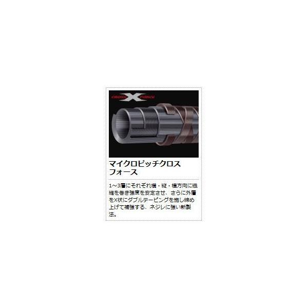 ●メジャークラフト クロステージ CRXJ-S642ML/LJ スピニングモデル/2ピース