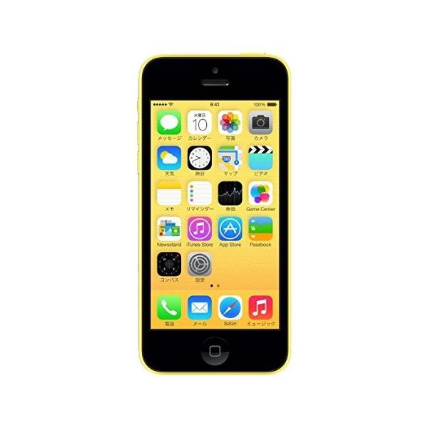 iPhone5C 32GB イエロー (MF150J/A) docomoの画像