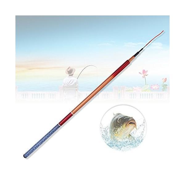 釣り竿 釣竿 渓流竿 ロッド 伸縮式 携帯便利 ガラススチール製 軽量 頑丈 使用簡単 ポータブル ハンドポール 釣