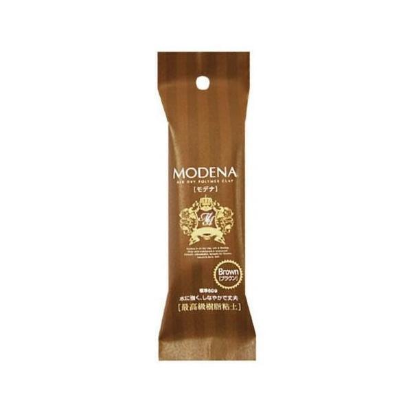 PADICO パジコ 樹脂粘土 Modena color(モデナカラー) ブラウン 60g 2個セット 303116 infomart