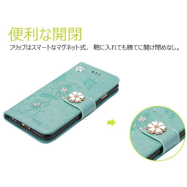 67c789cc9e ... iPhone6sケース iPhone6 7 8 Plusケース 手帳型ケース花柄 蝶柄 iPhone6s 7 ...