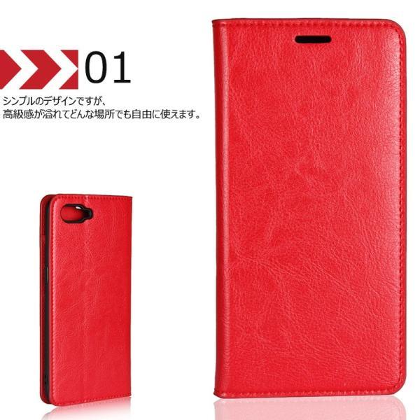 Oppo R17 Neoケース 手帳型 マグネット無し 本革 カードポケット シンプル オッポ R17 Neo カバー 携帯カバー スタンド機能 財布型 Oppo R17 Neo カバー 横向き|initial-k|03