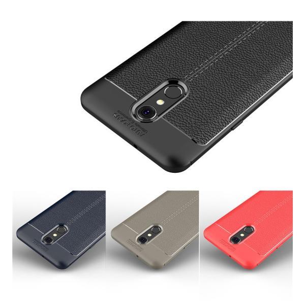 LG Q Stylus専用ケース LG Q Stylusケース 背面 柔らかい LG Q Stylus背面ケース TPU  LG Q Stylusカバー 背面保護 LG Q Stylusスマホケース 軽量 薄い|initial-k|02