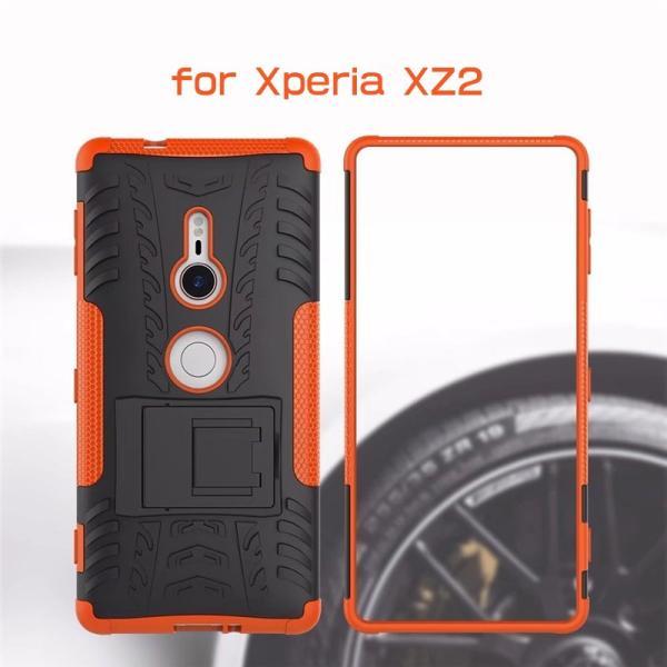 Xperia マホケース XZ2 SO-03K SOV37 ケース TPU+PC 背面保護 Xperia XZ2ケース 耐衝撃 Xperia XZ2 カバー TPU ソフトケース ソニー エクスペリア XZ2ケース|initial-k|03