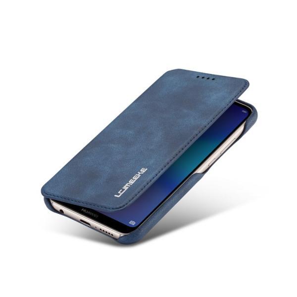 HUAWEI スマホケース HUAWEI P20 liteケース 手帳型 薄型 ファーウェイP20 ライトケース 手帳 ファーウェイ p20 liteカバー レザー Huawei P20lite手帳型ケース|initial-k|05