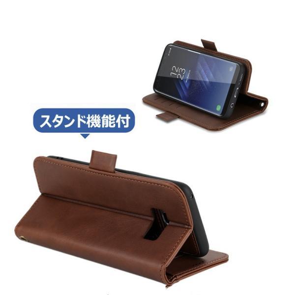 ギャラクシー S8 S8+手帳型 カバー 磁石軽量 カード収納 GALAXY S8 S8+ 手帳ケース 磁石 分離式  galaxy s8 s8+  手帳型ケース 財布カバー 分離式|initial-k|04