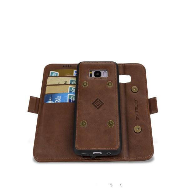 ギャラクシー S8 S8+手帳型 カバー 磁石軽量 カード収納 GALAXY S8 S8+ 手帳ケース 磁石 分離式  galaxy s8 s8+  手帳型ケース 財布カバー 分離式|initial-k|05