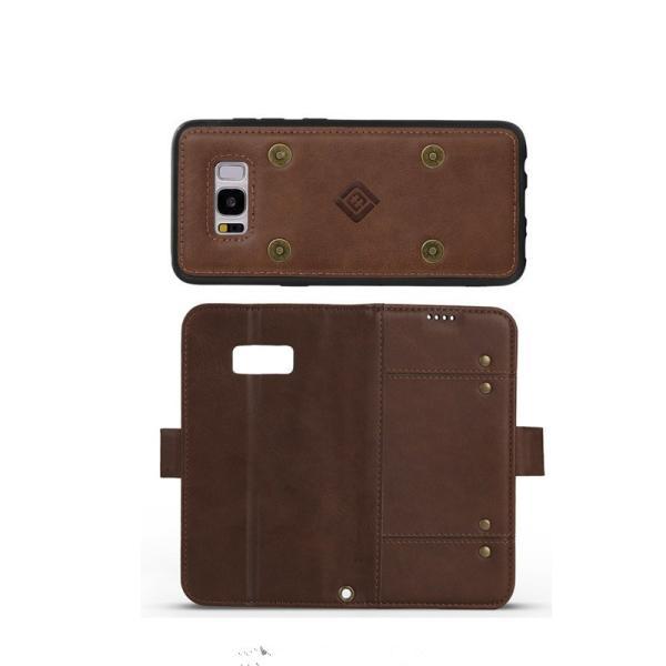 ギャラクシー S8 S8+手帳型 カバー 磁石軽量 カード収納 GALAXY S8 S8+ 手帳ケース 磁石 分離式  galaxy s8 s8+  手帳型ケース 財布カバー 分離式|initial-k|07