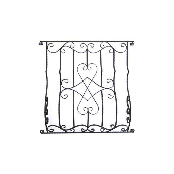 ロートアイアン(アイアン飾り・面格子・プロヴァンス風) W975×D215×H920 INK-1401165H|ink-co