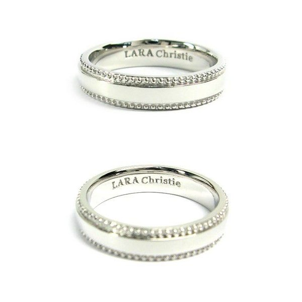 LARA Christie ララクリスティー/マイクロミニシリーズ ギャラクシー リング ホワイト リング シルバー925 R6030-W ギフト プレゼント