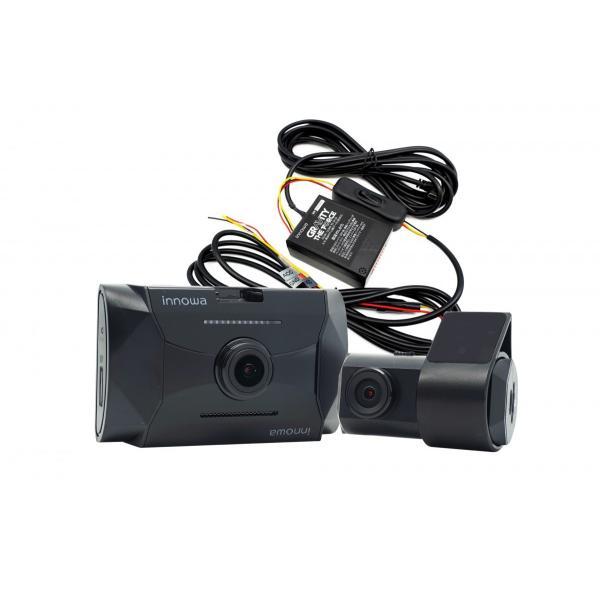 innowa GRAVITY 究極セット 前後2カメラ ドライブレコーダー 電源直結コード付 駐車監視 フルHD Wi-Fi GPS 160度 ノイズ対策 HDR 64GB SDカード付 2年保証|innowa|03