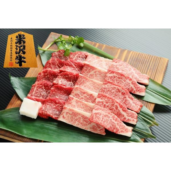 米沢牛 焼き肉セット(カルビ・モモ)各225g 合計450g|inokoya