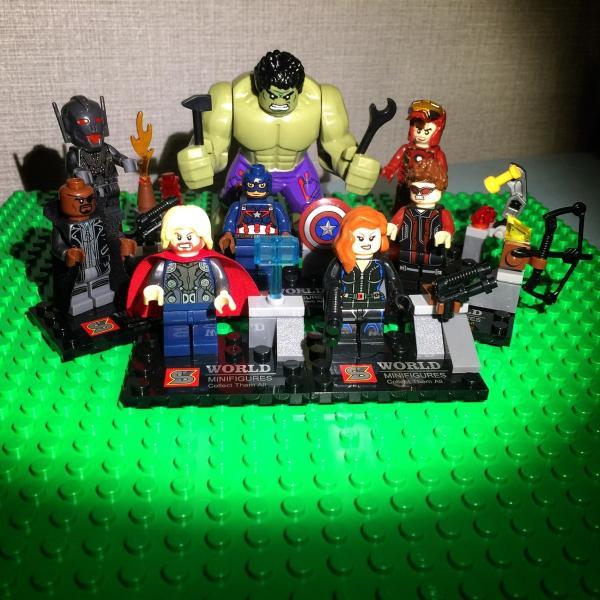 (即日配達)レゴ互換◆アベンジャーズ ミニフィグ(ミニフィギュア) 8体セット LEGO(レゴ) 互換 並行輸入|inoq-2|02