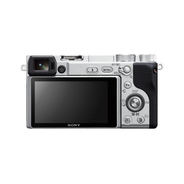 ソニー デジタル一眼カメラ ILCE-6400L (S) シルバー色 α6400 パワーズームレンズキット
