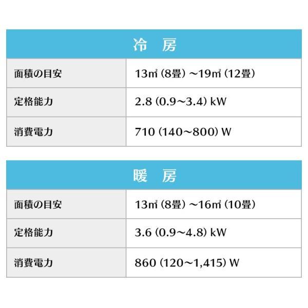 エアコン 10畳 工事費込み リモコン クーラー 冷房 暖房 除湿 室外機 夏 和室 省エネ エコ リビング 2.8kW IRA-2802A アイリスオーヤマ :予約品 insair-y 15