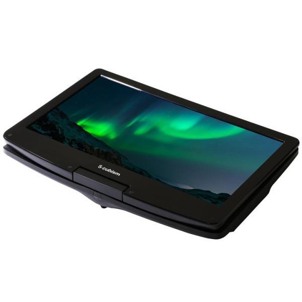 12.5インチ ポータブルDVDプレーヤー 内蔵バッテリー APD-1251 (D)