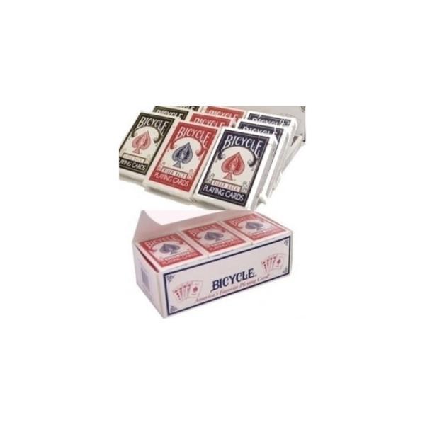 BICYCLE (バイスクル) ライダーバック (ポーカーサイズ) 〔レッド×72 / ブルー×72〕 1グロス insatsuhiroba 02