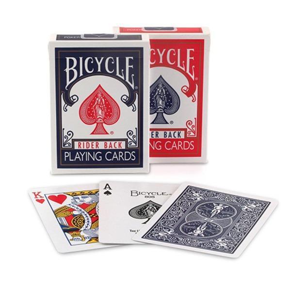 BICYCLE (バイスクル) ライダーバック (ポーカーサイズ) 〔レッド×72 / ブルー×72〕 1グロス insatsuhiroba 03