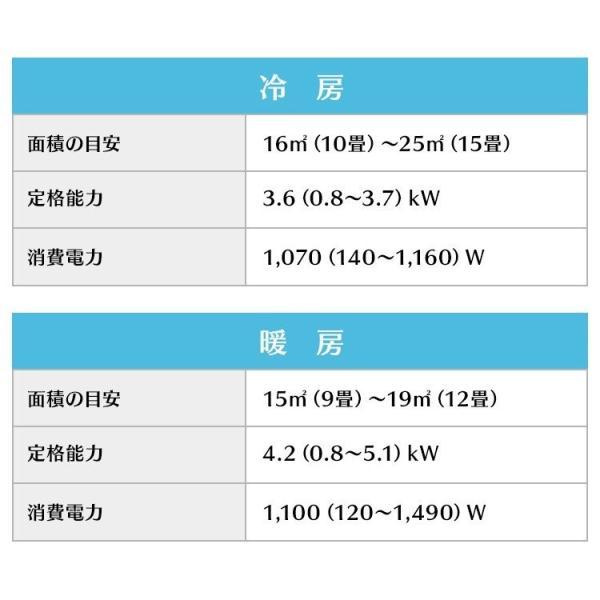 エアコン 12畳 工事費込み 最安値 省エネ アイリスオーヤマ 12畳用 IRA-3602A 3.6kW:予約品 insdenki-y 14