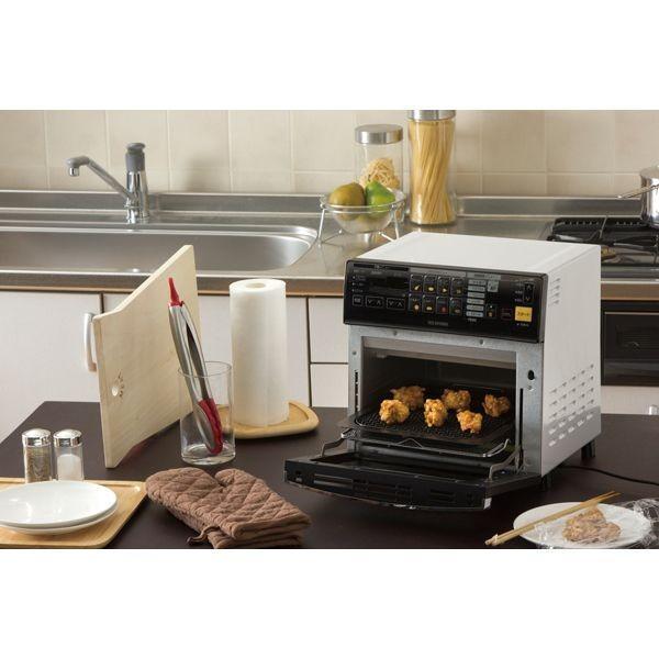 オーブン リクック熱風オーブン FVX-M3A-W ホワイト アイリスオーヤマ ノンフライ コンベクション ノンフライヤー|insdenki-y|03