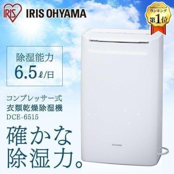 除湿機 コンプレッサー式 アイリス コンパクト アイリスオーヤマ パワフル 軽量 DCE-6515:予約品 insdenki-y