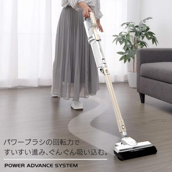 掃除機 コードレス 紙パック式 アイリスオーヤマ 紙パック スティッククリーナー IC-SLDCP6|insdenki-y|03