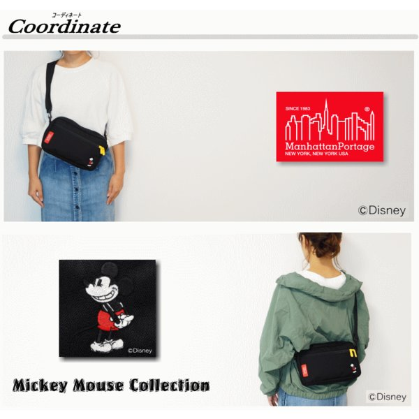 00d61e0baeaf ... Manhattan Portage Jogger Bag (Mickey Mouse Collection)/【マンハッタンポーテージ  ジョガーバッグ (