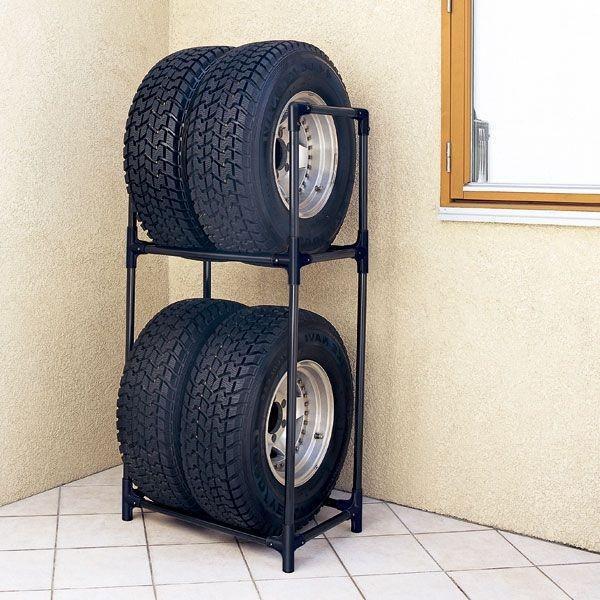 タイヤラック 大型ミニバン SUV用 タイヤ交換 アイリスオーヤマ KTL-710 inskagu-y 02