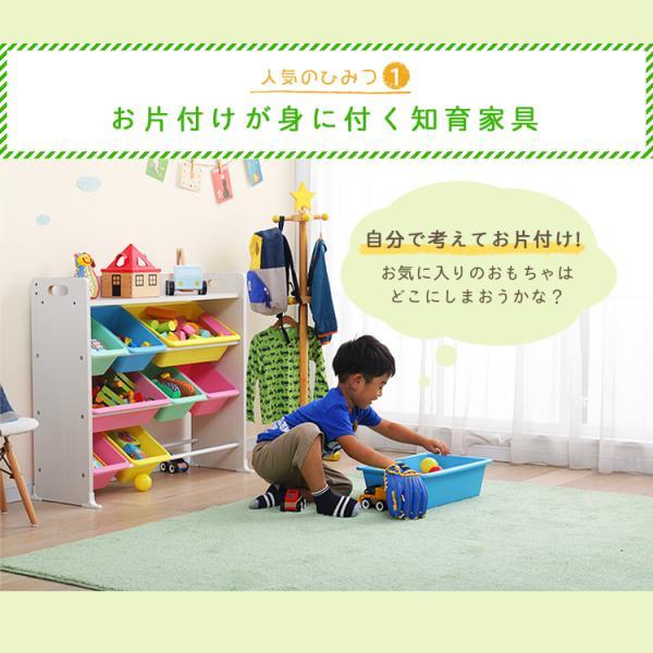 おもちゃ 収納 おもちゃ箱 子供部屋 おしゃれ 子供 おもちゃ収納 本棚 絵本 収納ボックス キッズ 天板付キッズトイハウスラック TKTHR-39 アイリスオーヤマ inskagu-y 03