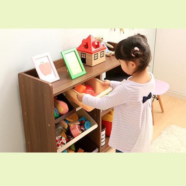 本棚 子供 絵本 おもちゃ おもちゃ箱 トイラックハウス 収納ボックス ラック キッズ 収納  HTHR-34 アイリスオーヤマ|inskagu-y|03