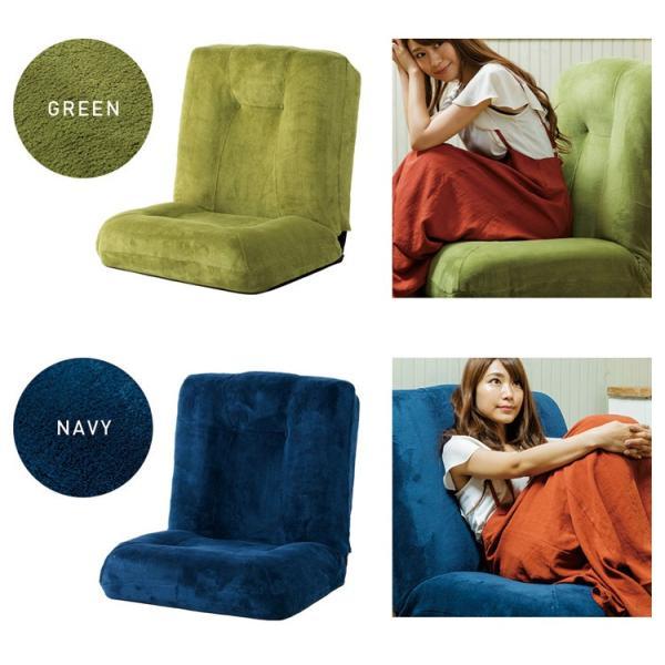 座椅子 おしゃれ 安い リクライニング ソファー 1人掛け ソファ シンプル 座いす ポケットコイル 省スペース  CG-875K-IP|inskagu-y|04