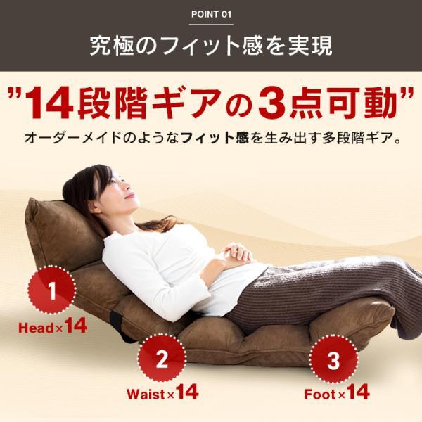 座椅子 おしゃれ 安い ハイバック リクライニング チェアー チェア 椅子 イス いす 一人暮らし 極厚 低反発 ソファ ソファー FC-560B:予約品|inskagu-y|06