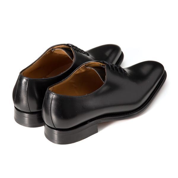 バーウィック BERWICK  ホールカット プレーン 紳士靴 革靴 ビジネスシューズ メンズ ブラック  2585 レザーソール BOXカーフ素材 グットイャー製法  スペイン製|inspire-gallery|02