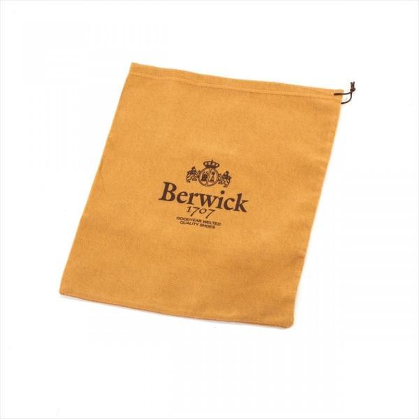 バーウィック BERWICK  ホールカット プレーン 紳士靴 革靴 ビジネスシューズ メンズ ブラック  2585 レザーソール BOXカーフ素材 グットイャー製法  スペイン製|inspire-gallery|12