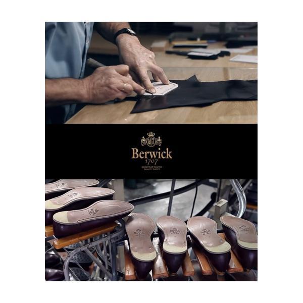 バーウィック BERWICK  ホールカット プレーン 紳士靴 革靴 ビジネスシューズ メンズ ブラック  2585 レザーソール BOXカーフ素材 グットイャー製法  スペイン製|inspire-gallery|16