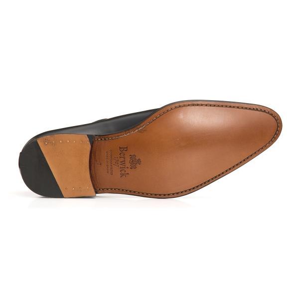 バーウィック BERWICK  ホールカット プレーン 紳士靴 革靴 ビジネスシューズ メンズ ブラック  2585 レザーソール BOXカーフ素材 グットイャー製法  スペイン製|inspire-gallery|04
