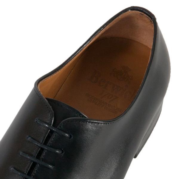 バーウィック BERWICK  ホールカット プレーン 紳士靴 革靴 ビジネスシューズ メンズ ブラック  2585 レザーソール BOXカーフ素材 グットイャー製法  スペイン製|inspire-gallery|07