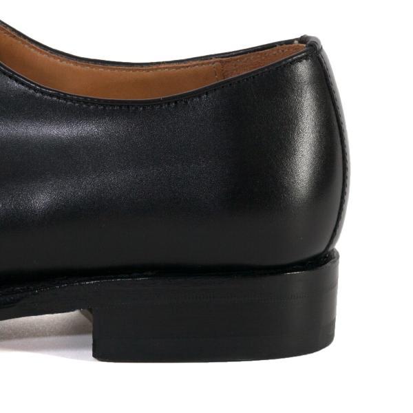 バーウィック BERWICK  ホールカット プレーン 紳士靴 革靴 ビジネスシューズ メンズ ブラック  2585 レザーソール BOXカーフ素材 グットイャー製法  スペイン製|inspire-gallery|08