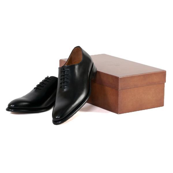 バーウィック BERWICK  ホールカット プレーン 紳士靴 革靴 ビジネスシューズ メンズ ブラック  2585 レザーソール BOXカーフ素材 グットイャー製法  スペイン製|inspire-gallery|09