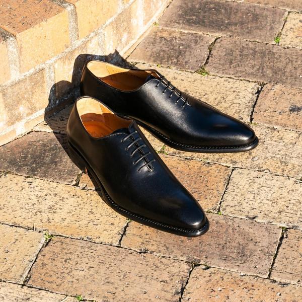 バーウィック BERWICK  ホールカット プレーン 紳士靴 革靴 ビジネスシューズ メンズ ブラック  2585 レザーソール BOXカーフ素材 グットイャー製法  スペイン製|inspire-gallery|10