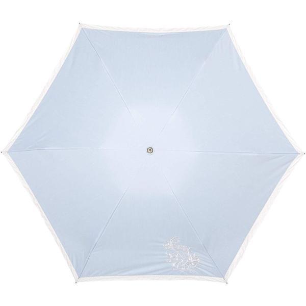 ブラオ AURORA(オーロラ) 東レ サマーシールド フレンチシック デニムバイカラー モチーフレース カーボン軽量 UV遮光遮熱兼用おり|integral-store