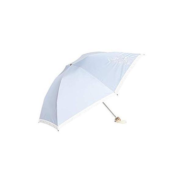 ブラオ AURORA(オーロラ) 東レ サマーシールド フレンチシック デニムバイカラー モチーフレース カーボン軽量 UV遮光遮熱兼用おり|integral-store|02