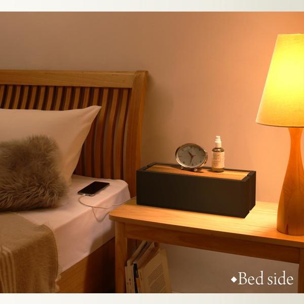 ケーブルボックス おすすめ 木製ケーブルボックス 収納 木 木製 大 大型 電源タップ おしゃれ スリム ルーター コード コンセント収納ボックス intelogue 10