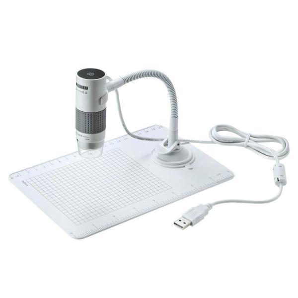 【同梱・代引き不可】  サンワサプライ USB顕微鏡 LPE-07W