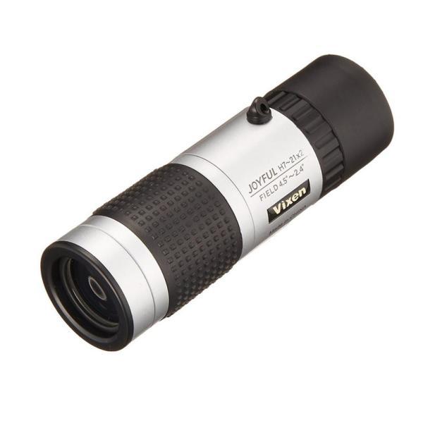 【同梱・代引き不可】  Vixen ビクセン 単眼鏡 ジョイフルモノキュラーH7〜21×21 11483-2
