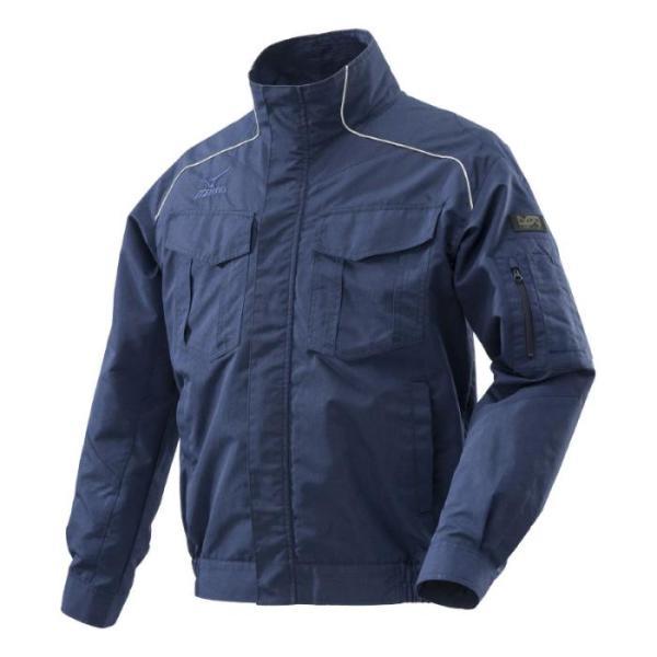 ミズノエアリージャケット (服のみ)2XL HO-5NB-2XL 空調服 作業服 作業着 服のみ 熱中症予防 熱中症対策 熱中症対策グッズ ジャケット 暑さ対策 グッズ 長