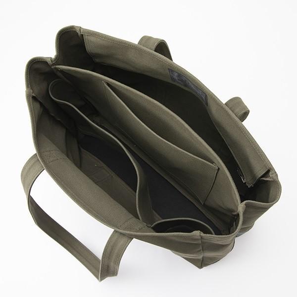 中川政七商店 帆布のワークバッグ  動く 仕切りのトートバッグ|inter3i|10