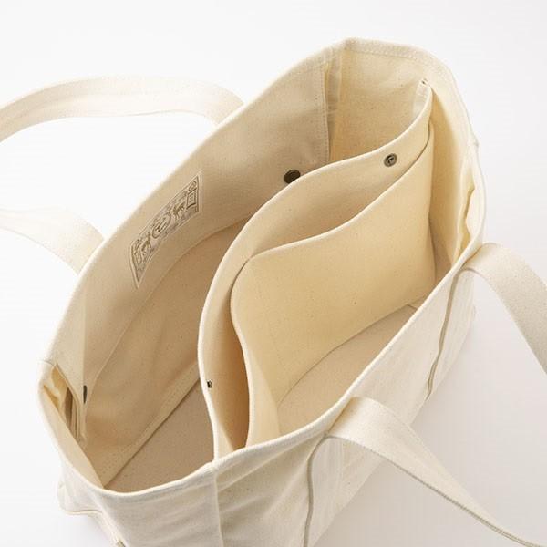 中川政七商店 帆布のワークバッグ  動く 仕切りのトートバッグ 小|inter3i|06