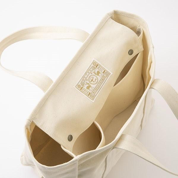中川政七商店 帆布のワークバッグ  動く 仕切りのトートバッグ 小|inter3i|07